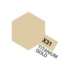 X-31 Titanium Gold