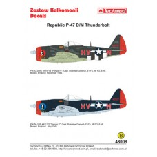 Techmod 48008 Republic P-47D/M Thunderbolt 1/48