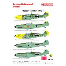 Techmod 48013 Messerschmitt Bf 109E-4 1/48
