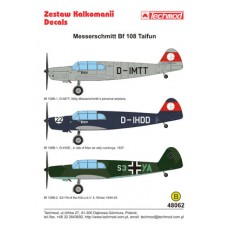 Techmod 48062 Messerschmitt Bf 108 Taifun 1/48