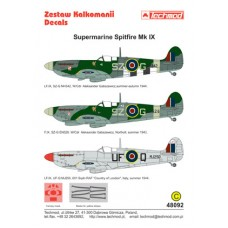 Techmod 48092 Supermarine Spitfire IX 1/48