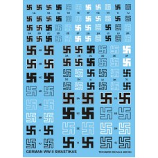 Techmod 48015 German WWII Swastikas 1/48