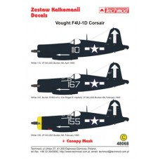 Techmod 48068 Vought F4U-1D Corsair 1/48
