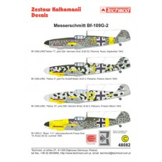 Techmod 48082 Messerschmitt Bf 109G-2 1/48