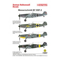 Techmod 72007 Messerschmitt Bf 109F-2 1/72