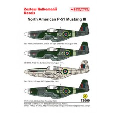 Techmod 72009 North American P-51 Mustang III 1/72