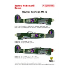 Techmod 72034 Hawker Typhoon IB 1/72