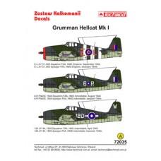 Techmod 72035 Grumman Hellcat I 1/72