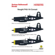 Techmod 72037 Vought F4U-1D Corsair 1/72