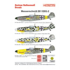 Techmod 72051 Messerschmitt Bf 109G-2 1/72
