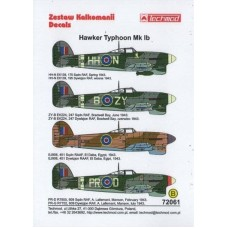 Techmod 72061 Hawker Typhoon Ib 1/72