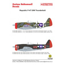 Techmod 72103 Republic P-47D/M Thunderbolt 1/72