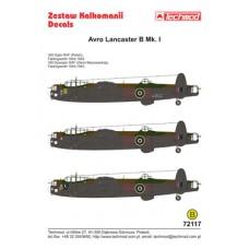 Techmod 72117 Avro Lancaster B.I 1/72