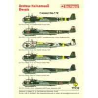 Techmod 72136 Dornier Do 17Z 1/72