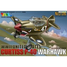 WWII United States Curtiss P-40 Warhawk