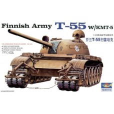 T-55 with KMT-5 mine roller, Finnish Army 1/35