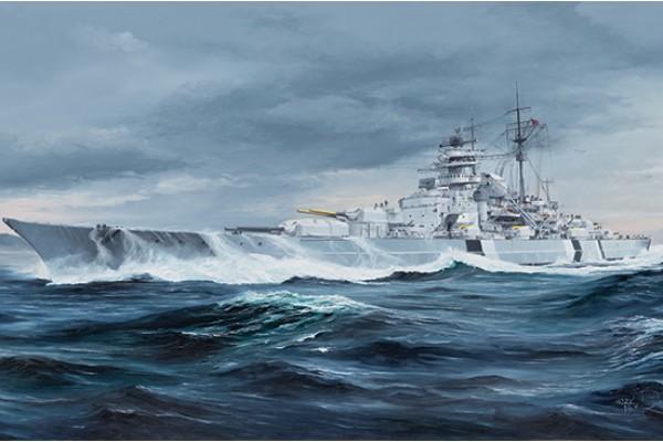 Bismarck German Battleship 1/350