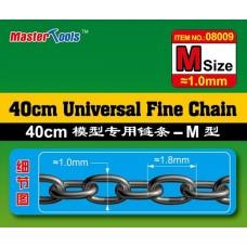40CM Universal Fine Chain M Size 1.0mmX1.8mm