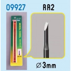 Model Chisel -  RR2 - 3 mm