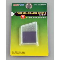 8 pce Drill Bit Set 1.0-1.7mm