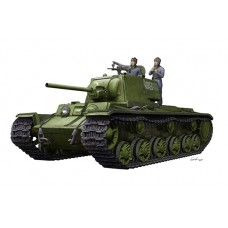 KV-1 m1942 Simplified Turret with Crew 1/35