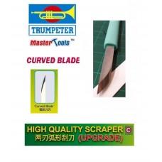 High Quality Scraper Upgrade Single Curved Blade