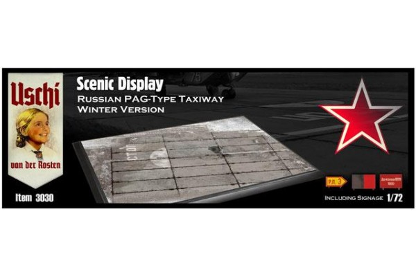 Scenic Display - Russian PAG-Type Taxiway Winter Version rectangular 1/72