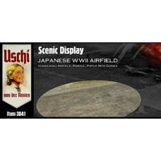 Scenic Display - Japanese WWII Airfield Circular 1/48
