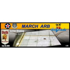 Scenic Display - March Air Force Reserve Base 1/72
