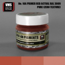 VMS Pigment No. 10a ZERO TEX Primer Red RAL 3009 Actual 45 ml