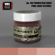 VMS Pigment No. 10c ZERO TEX Primer Red RAL 3009 Faded 45 ml