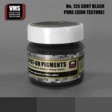 VMS Pigment No. 12a ZERO TEX Soot Black 45 ml