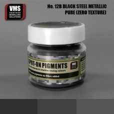 VMS Pigment No. 12b ZERO TEX Black Steel Metallic 45 ml