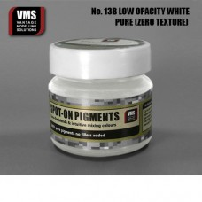 VMS Pigment No. 13b ZERO TEX Low Opacity White 45 ml