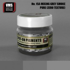 VMS Pigment No. 15a ZERO TEX Mixing Grey Intensive Smoke 45 ml