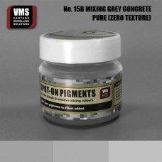 VMS Pigment No. 15b ZERO TEX Mixing Grey XT Bright Concrete 45 ml