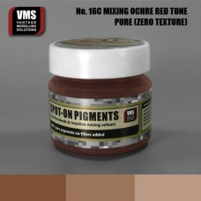 VMS Pigment No. 16c ZERO TEX Mixing Ochres Red 45 ml