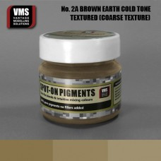 VMS Pigment No. 02a COARSE TEX EU Brown Earth Cold Tone 45 ml