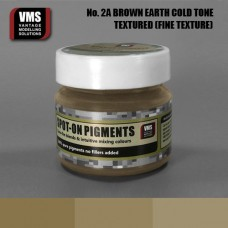 VMS Pigment No. 02a FINE TEX EU Brown Earth Cold Tone 45 ml