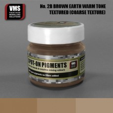 VMS Pigment No. 02b COARSE TEX EU Brown Earth Warm Tone 45 ml