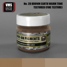 VMS Pigment No. 02b FINE TEX EU Brown Earth Warm Tone 45 ml