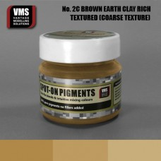 VMS Pigment No. 02c COARSE TEX EU Brown Earth Clay Rich Tone 45 ml