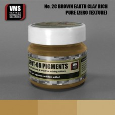 VMS Pigment No. 02c ZERO TEX EU Brown Earth Clay Rich Tone 45 ml