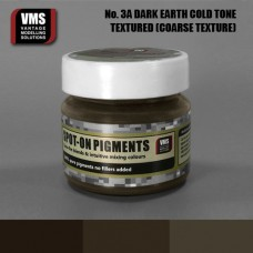 VMS Pigment No. 03a COARSE TEX EU Dark Earth Chernozem Cold Tone 45 ml
