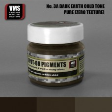 VMS Pigment No. 03a ZERO TEX EU Dark Earth Chernozem Cold Tone 45 ml
