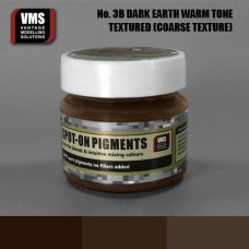 VMS Pigment No. 03b COARSE TEX EU Dark Earth Chernozem Warm Tone 45 ml