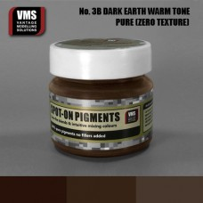 VMS Pigment No. 03b ZERO TEX EU Dark Earth Chernozem Warm Tone 45 ml