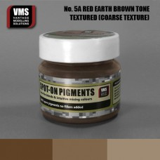 VMS Pigment No. 05a COARSE TEX Red Earth Brown Tone 45 ml