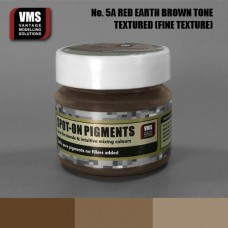VMS Pigment No. 05a FINE TEX Red Earth Brown Tone 45 ml