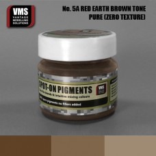 VMS Pigment No. 05a ZERO TEX Red Earth Brown Tone 45 ml